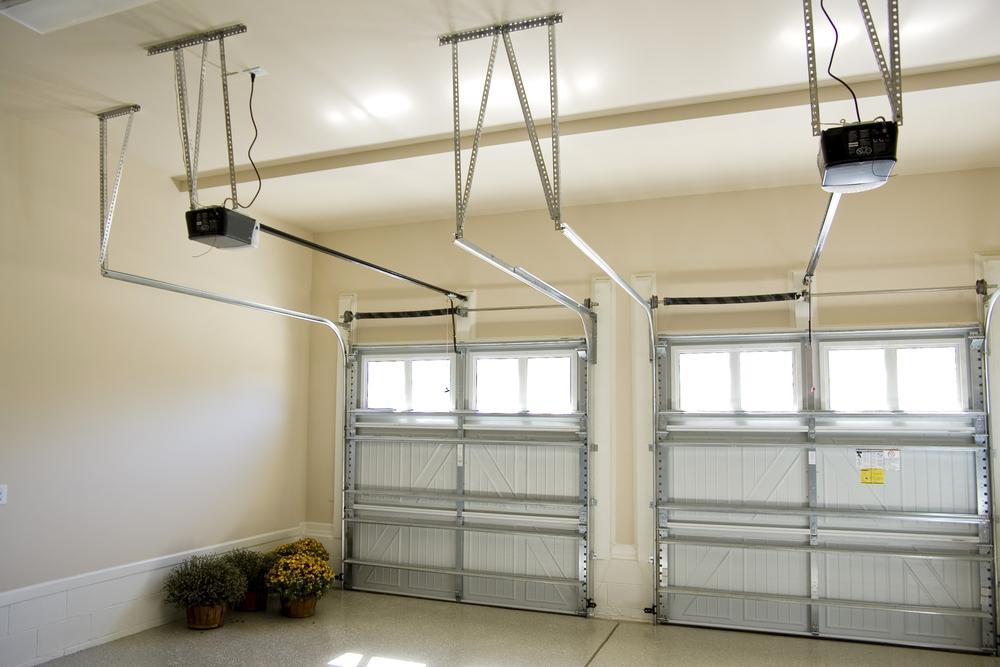 how to fix overhead garage door