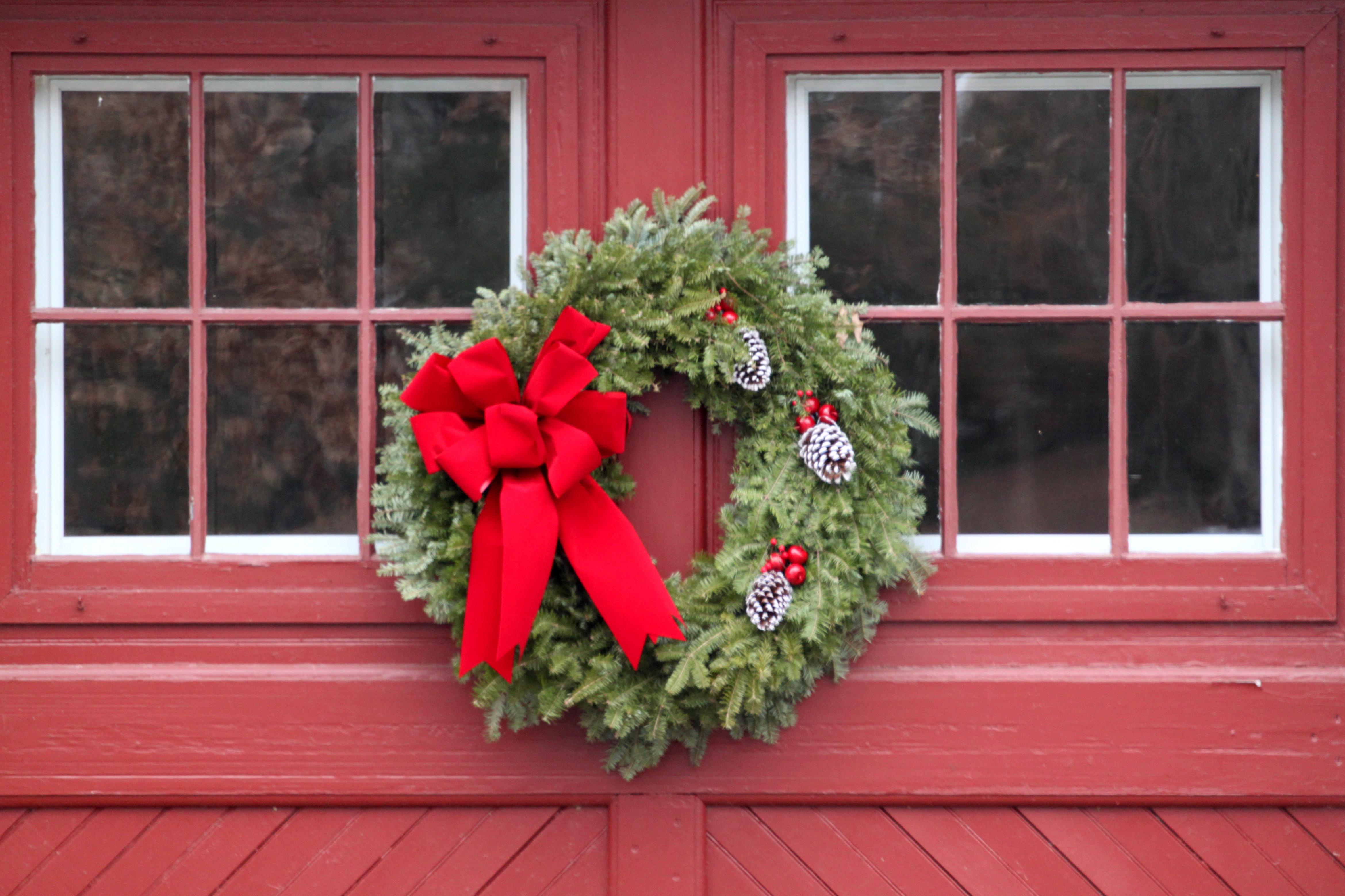 Christmas Scene Nation Overhead Garage Door
